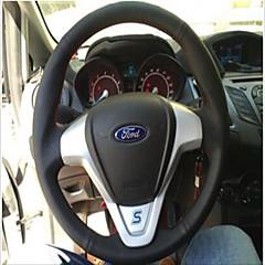 billige Rattovertrekk til bilen-bil ratt deksler (skinn) for universal ford generelle motorer fiesta