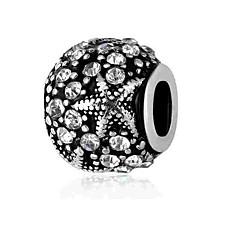 baratos Miçangas & Fabricação de Bijuterias-Jóias DIY 1 pçs Contas Imitações de Diamante Liga Branco Azul Redonda Bead 0.2 cm faça você mesmo Colar Pulseiras