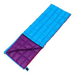 baratos -Saco de dormir Retangular Penas de Pato 10°C Prova-de-Água Respirabilidade 190X70 Campismo Viajar Exterior Interior Solteiro (L150 cm x