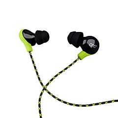 billiga Headsets och hörlurar-PHB P8 I öra Kabel Hörlurar Dynamisk Plast Pro Audio Hörlur mikrofon / Med volymkontroll headset