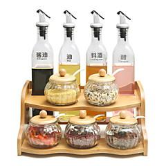 Χαμηλού Κόστους Οργάνωση κουζίνας-Ξύλο Δημιουργική Κουζίνα Gadget Επιτραπέζια Διοργανωτές 1pc Οργάνωση κουζίνας