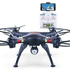 billige Fjernstyrte quadcoptere og multirotorer-RC Drone GW180 4 Kanal 6 Akse Med 2,0 M HD-kamera Fjernstyrt quadkopter Høyde Holding Styr Kamera Samle Flyg Data Luft Trykk Høyde Hold