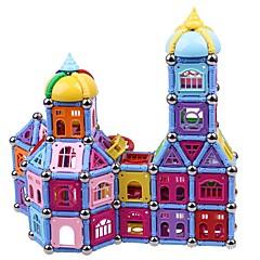 tanie Klocki magnetyczne-Magnetyczne pałeczki Klocki 300pcs Transformable Architektura Zabawki Prezent