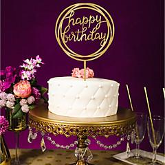 お買い得  パーティー用品-結婚式 / 誕生日 アクリル 結婚式の装飾 クラシックテーマ オールシーズン