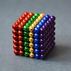 Jouets Aimantés Blocs de Construction Boules Magnétiques 216 Pièces 5mm Jouets Aimant Sphère Cadeau
