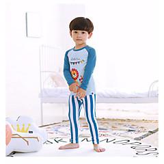 billige Undertøj og sokker til drenge-Baby Drenge Blomstret Nattøj Blå