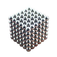 abordables Juguetes de Construcción-Juguetes Magnéticos Imán de Neodimio Bolas magnéticas 216 Piezas 3mm Juguetes Magnético Metal Magnética Esfera Cilíndrico Navidad