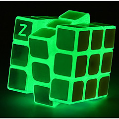 cheap -Magic Cube IQ Cube Luminous Glow Cube 3*3*3 Smooth Speed Cube Magic Cube Puzzle Cube Glow in the Dark Classic Places Square Shaped Kid's Toy Boys' Girls' Gift