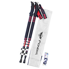 cheap Trekking Poles-3 Walking Poles Trekking Poles Nordic Walking Poles Multifunction Walking Poles Trekking Pole Tip Cap Hiking pole 135cm (53 Inches)