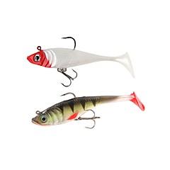 billiga Fiskbeten och flugor-3 st Fiskbete Mjukt bete pvc Sjöfiske Kastfiske Spinnfiske Jiggfiske Färskvatten Fiske Generellt fiske Drag-fiske Karpfiske