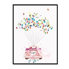 זול טכס חתונה-מגשים ומסגרות חתומים אחרים נושא קלאסי רכבים רומנטיקהWithדוגמא \ הדפס