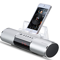 cheap Speakers-E19 Bluetooth Bluetooth 2.1 3.5mm AUX Bookshelf Speaker Silver Red Blue