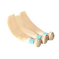 Χαμηλού Κόστους Εξτένσιον από Ανθρώπινη Τρίχα-3 δεσμίδες Βραζιλιάνικη Ίσιο Φυσικά μαλλιά Υφάνσεις ανθρώπινα μαλλιών Επεκτάσεις ανθρώπινα μαλλιών Γυναικεία