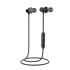 billiga Headsets och hörlurar-AWEI AWEI-X650BL I öra Bluetooth4.1 Hörlurar Dynamisk Mahogany Sport & Fitness Hörlur Mini / Bekväm / Magnetattraktion headset