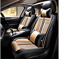 billige Setetrekk til bilen-Setetrekk til bilen nakkestøtter Midjeputer Setetrekk tekstil PU Leather Til Universell Alle år Alle Modeller