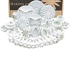 billige Bakeredskap-Bakeware verktøy Plastikker baking Tool Kreativ Til Småkake Pai Party Pieverktøy 33