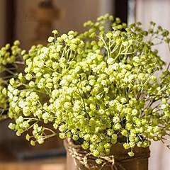 billige Kunstige blomster-Kunstige blomster 5 Gren Bryllup Bryllupsblomster Brudeslør Bordblomst