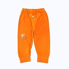 tanie Odzież dla dziewczynek-Brzdąc Dla obu płci Prosty Sport Jendolity kolor Długi rękaw Bawełna Spodnie