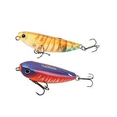 billiga Fiskbeten och flugor-1 pcs Fiskbete Blyertspenna Plast Sjöfiske / Kastfiske / Spinnfiske / Jiggfiske / Färskvatten Fiske / Karpfiske / Abborr-fiske / Drag-fiske