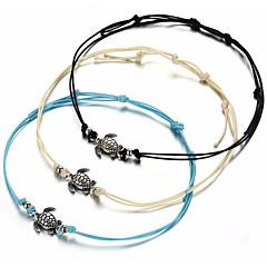 baratos Bijoux de Corps-Tornezeleira - Tartaruga Fashion Branco / Preto / Azul Para Diário / Mulheres