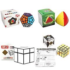 billiga Leksaker och spel-Rubiks kub 4 st Shengshou 7182A-1 7172A-1 7097A-2 7099A-3 Alien 3*3*3 2*2*2 Mjuk hastighetskub Magiska kuber Pusselkub Lena klistermärken