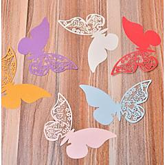 billige Bryllupsdekorasjoner-Bryllup / Fest Hardt Kortpapir Bryllupsdekorasjoner Sommerfugl Tema / Fødselsdag / Familie / Bryllup Alle årstider