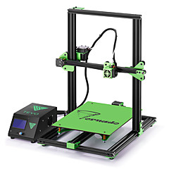 cheap Equipment & Tools-TEVO® Tornado DIY 3D Printer Kit 300*300*400mm Large Printing Size 1.75mm 0.4mm Nozzle Support Off-line Print - 110V