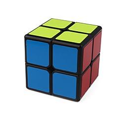 billiga Leksaker och spel-Rubiks kub 1 PCS Shengshou D0892 Rainbow Cube 2*2*2 Mjuk hastighetskub Magiska kuber Pusselkub Genomskinligt klistermärke Mode Present