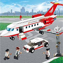 voordelige -Airplane Bouwblokken 334pcs voortreffelijk Klassiek & Tijdloos Vliegtuig Geschenk
