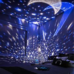 Χαμηλού Κόστους DIY παιχνίδια-Night Lamp Sky Scene Φωτισμός LED Φωτιστικό προτζέκτορας Γαλαξιακός ουρανός Αναλαμπή Ρομαντικό Δώρο