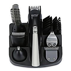 billige Barbering og hårfjerning-Kemei Hair Trimmers til Damer og Herrer 100-240 V Lav lyd / 5 i 1 / Lett og praktisk