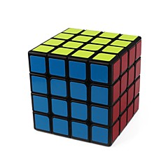 billiga Leksaker och spel-Rubiks kub 1 PCS YongJun D0900 Hämnd 4*4*4 Mjuk hastighetskub Magiska kuber Pusselkub Genomskinligt klistermärke Mode Present Unisex