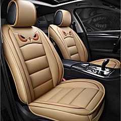 billige Setetrekk til bilen-ODEER Setetrekk Beige PU Leather Tegneserie for Universell Alle år Alle Modeller