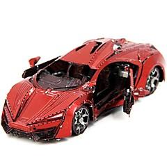tanie Gry i puzzle-Zabawki 3D Kreatywne Focus Toy Ręcznie wykonane Pojazdy Stały styl Hračka Wyścigówka Prezent