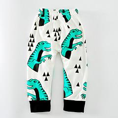 billige Bukser og leggings til piger-Baby Unisex Blomstret / Trykt mønster Trykt mønster Bomuld Leggings / Sødt
