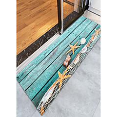billige Hjemmetekstiler-Dørmatter / Badematter / området tepper Sport og friluft / Moderne Flanellette, Rektangulær Overlegen kvalitet Teppe / Latex Non Skid
