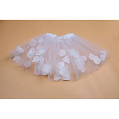 お買い得  女児 スカート-幾何学模様 女の子の 日常 お出かけ ポリエステル 夏 ノースリーブ ドレス キュート 活発的 ホワイト ルビーレッド ピンク