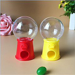cheap Favor Holders-Circular Plastic Favor Holder with Favor Boxes - 12