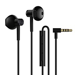 Xiaomi Earphone Wired Headphones Dynamic Plastic Mobile Phone Earphone Headset