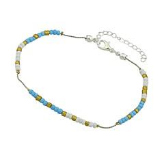 baratos Bijoux de Corps-Tornezeleira - Turmalina de imitação Básico, Fashion Azul / Rosa claro / Azul Claro Para Diário / Feriado / Mulheres