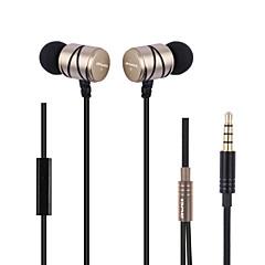 billiga Headsets och hörlurar-AWEI Q5i I öra Kabel Hörlurar Dynamisk Metall Sport & Fitness Hörlur Mini / Bekväm / mikrofon headset