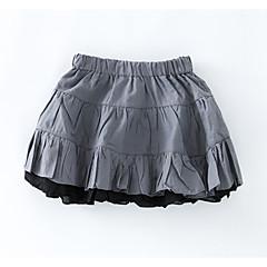 baratos Roupas de Meninas-Infantil Para Meninas Sólido Saia