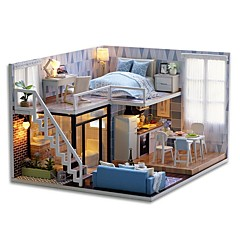 cheap Toys & Games-Dollhouse Exquisite Mini House Romantic 1pcs Pieces All Gift