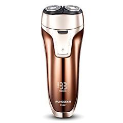 billige Barbering og hårfjerning-FLYCO Elektriske barbermaskiner til Herrer 110-220 V Strømlys Indikator / Lav lyd / Rask lading / Vaskbar / Ladestatus