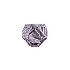 billige Babytøj-baby unisex søde solid farvede bukser