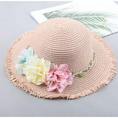 baratos Acessórios para Crianças-Bebê Para Meninas Activo Sólido / Floral / Floral / Botânico Capéus e Bonés
