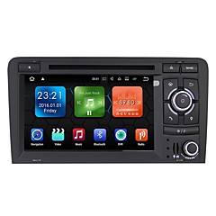 cheap Car DVD Players-Factory OEM 2 DIN Android 7.1 Built-in Bluetooth / GPS / RDS for Audi Support / Touch Screen / SD / USB Support / Radio / AVI / CD