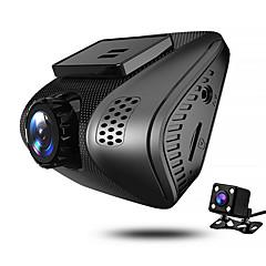 お買い得  車載DVR-JUEFAN J3 1080p ナイトビジョン 車のDVR 140度 広角の 2 インチ ダッシュカム とともに G-Sensor / エンドレスレコーディング カーレコーダー / 2.0