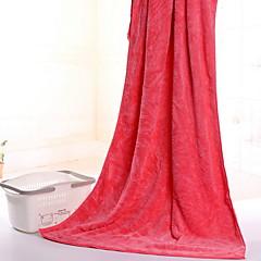 billiga Handdukar och badrockar-Överlägsen kvalitet Badhandduk, Enfärgad Polyester / Bomull Blandning Vardagsrum 1 pcs