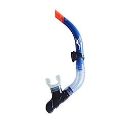 billiga Dykmasker, snorklar och simfötter-Snorklar Enkel, Hav, Torrdräkt – överdel Dykning, Snorkelfenor PVC (polyvinylklorid) - för Blå